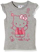 Hello Kitty Girl's Hugs T-Shirt,(Manufacturer Size:Medium)