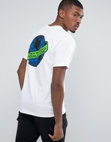 Obey T-shirt With Worldwide Back Print