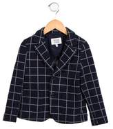 Armani Junior Boys' Grid Sports Jacket