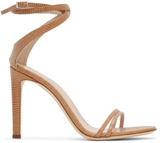 Giuseppe Zanotti Tan Catia Heeled Sandals