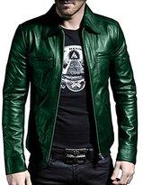 Laverapelle 1510200 Men's NAPPA Lambskin Real Leather Jacket - Extra Small
