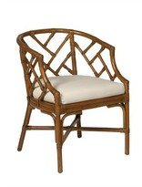 The Well Appointed House Rattan Club Chair in Variety Colors