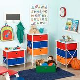 RiverRidge Kids Sort and Store Kids 4-Bin Organizer in Red, Blue, Orange and Green