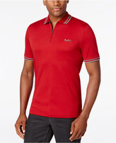 Michael Kors Men's Interlock Zip Polo
