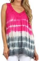 Sakkas 72531 Dakota Sky Sleeveless Blouse