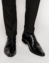 Frank Wright Leather Derby Shoes
