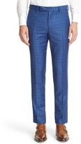 Paul Smith Men's Check Wool Trousers