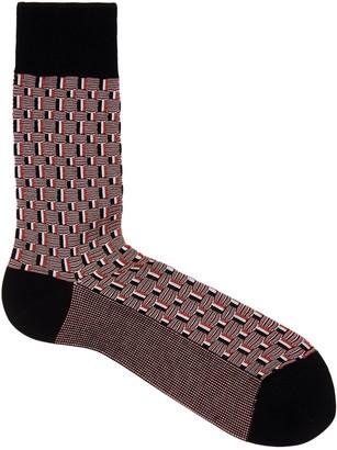 Falke Strap Boundary Cotton-blend Socks