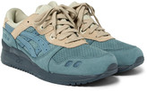 Asics - Gel Lyte Iii Nubuck, Suede And Mesh Sneakers
