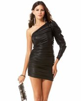 Solo Shimmer Ruched Dress