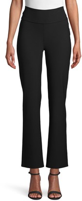 Anne Klein Flare Ankle Crepe Pants