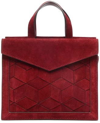 Welden Bags Small Voyager Leather Convertible Satchel