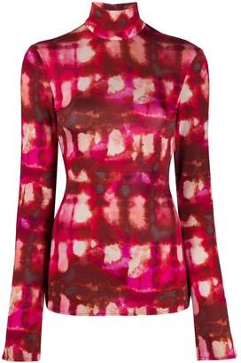 Ellery Papillon tie-dye top