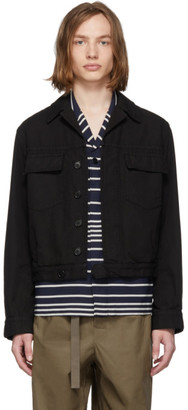 Dries Van Noten Black Vignola Jacket