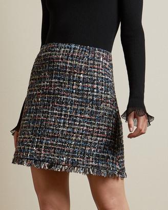 Ted Baker NOLLAS Boucle mini skirt