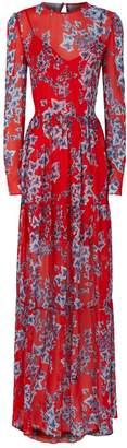 Philosophy di Lorenzo Serafini Sheer Ivy Print Dress