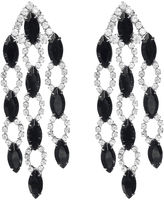 One Kings Lane Vintage Crystal & Rhinestone Drop Earrings