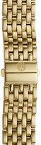 Michele Women's Deco 16 16Mm Gold Plated Bracelet Watchband