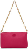 Dolce & Gabbana Pink Small Chain Pouch