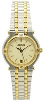 Gucci 9000L Stainless Steel & Plated Metal 25mm Womens Watch