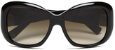 MICHAEL Michael Kors Women's Panama Sexy Miranda Sunglasses Black