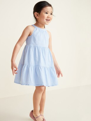 Old Navy Tiered Halter Dress for Toddler Girls