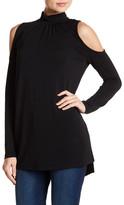 Kensie Cold Shoulder Knit Tunic