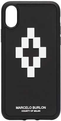 Marcelo Burlon County of Milan Cross 3D iPhone X case