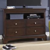 My Home Furnishings Neopolitan 4 Drawer Media Chest