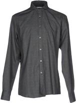 Grey Daniele Alessandrini Shirts - Item 38664685