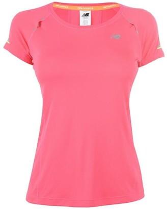 New Balance Short Sleeve Ice T Shirt Ladies