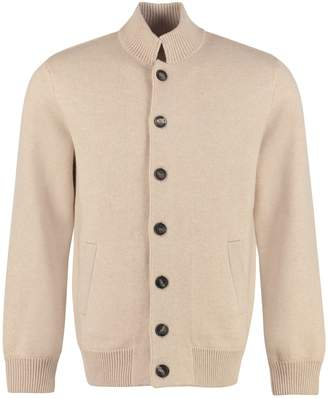 Brunello Cucinelli Wool And Cashmere Cardigan