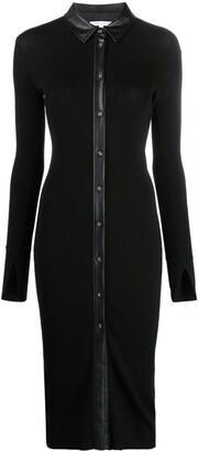 Patrizia Pepe Shirt Dress Cardigan