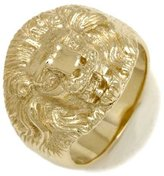 Tatitoto Only Gold Men's Ring in 14k Gold, Size 9, 13 Grams