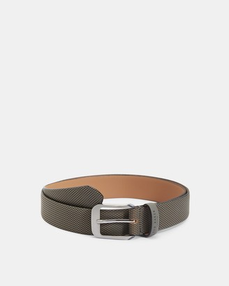 Ted Baker STREAKY Textured belt