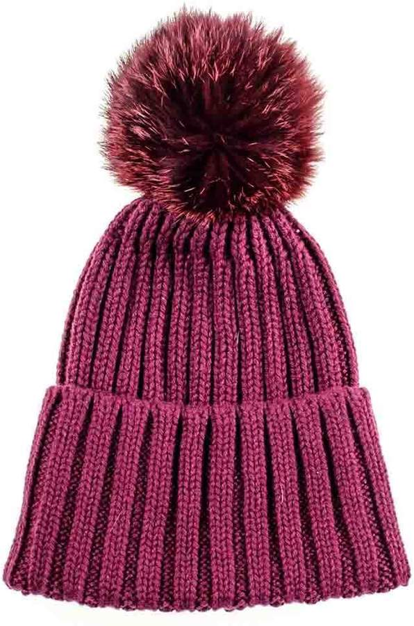 544ef04f05588c Pom Pom Cashmere Knit Hat Women - ShopStyle UK
