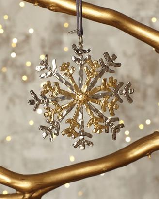Michael Aram Forged Snowflake Ornament