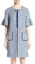 St. John Women's Kiara Tweed Bell Sleeve Jacket