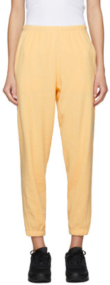 Gil Rodriguez SSENSE Exclusive Yellow Terry Beachwood Lounge Pants