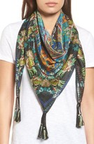 Johnny Was Women's Sathya Square Silk Scarf