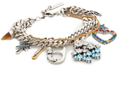 Marc Jacobs Cloud and Rainbow Charm Bracelet