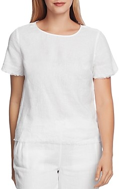 Vince Camuto Short-Sleeve Linen Shirt - 100% Exclusive