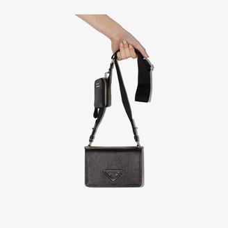 Prada Black Saffiano Leather Mini Bag