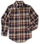 Class Club Big Boys 8-20 Plaid Flannel Button-Down Shirt