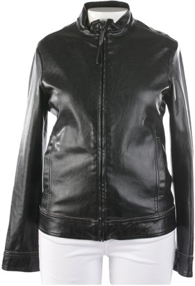 Gianfranco Ferre Black Leather Jackets