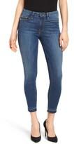 Good American Women's Good Legs High Rise Crop Released Hem Skinny Jeans