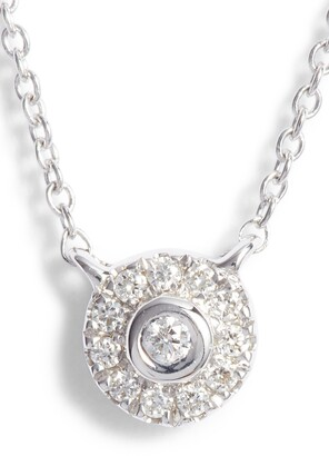 Dana Rebecca Designs Lauren Joy Mini Diamond Disc Necklace