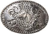 Nocona M & F Western Women's Fancy Rhinestone And Horse Head Buckle