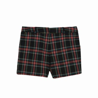 Lindsay Nicholas New York Trouser M.I.N.Y. Pant In Merlot Plaid