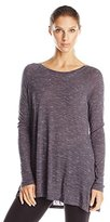 Calvin Klein Women's Spacedye Jersey Relaxed Top